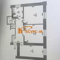3-к квартира, 67 м², 1/2 этаж